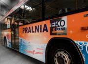 Reklama na autobusie - Pralnia EKO EXPRESS - Galeria Jastrzębie