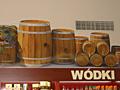 DH Gwarek - Jastrzębie, dekoracja nad alkoholami