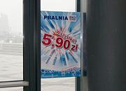 """Kampania promocyjna """"Wszystko 5,90"""", plakat - Pralnia EkoExpress"""