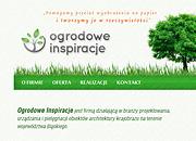 Ogrodowe Inspiracje - wizytówka internetowa