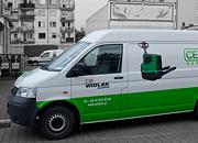 Oklejanie pojazdów - Widlak Gliwice
