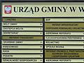 Tablica informacyjna - UG Walce