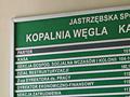 Tablica informacyjna - KWK Zofiówka
